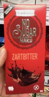 Frankonia No Sugar Added Zartbitter Schokolade 80 Gramm