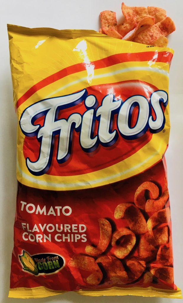 Fritos Tomato Flavoured Corn Chips aus Südafrika