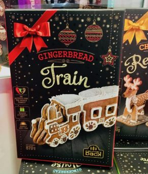 Gingerbread Train Set ISM 2019