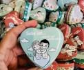 love is Pralinen in Herzform 3 Gramm