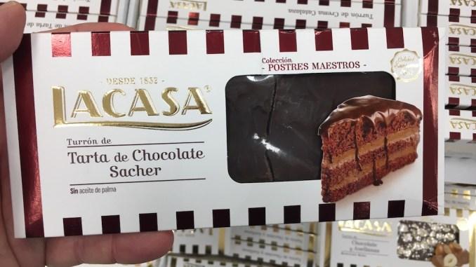 Lacasa Turron Torte de Chocolate Sacher