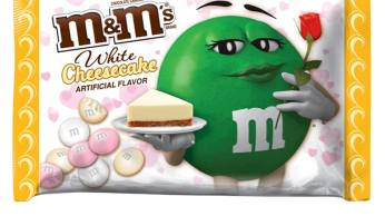 M+M Valentines Day 2019 White Cheesecake