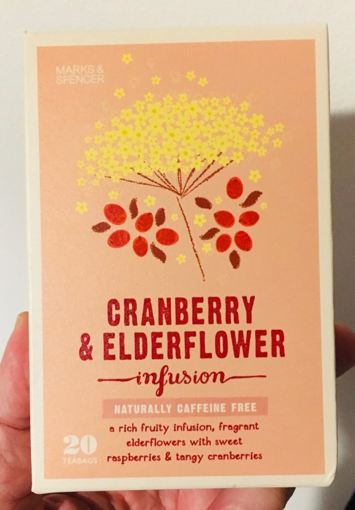 Marks&Spencer Tee Cranberry+Elderflower infusion