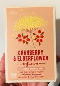 Marks&Spencer Tee Cranberry+Elderflower infusion