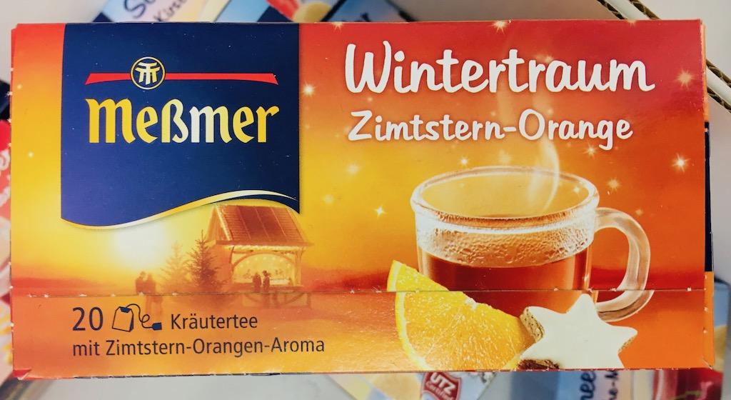 Meßmer Tee Wintertraum Zimtstern-Orange