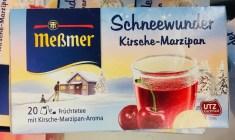 Meßmer Tee Schneewunder Kirsche-Marzipan