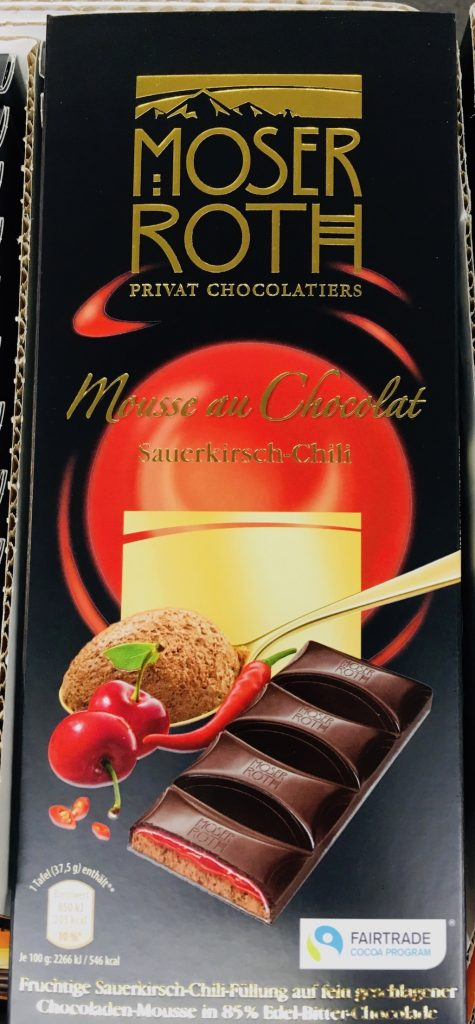 Moser Roth Mousse au Chocolat Sauerkirsch-Chili
