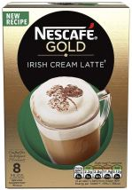 Nestlé Nescafé Gold Irish Cream Latte 8 Becher