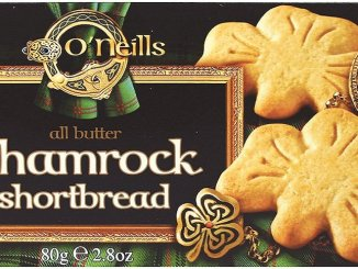O'Neils shamrock all butter shortbread 80 Gramm