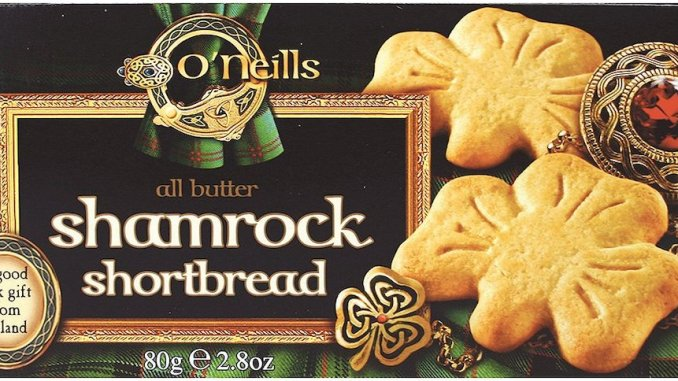 O'Neils shamrock all butter shortbread 80 Gramm