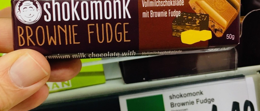 Shokomonk Brownie Fudge 50 Gramm