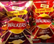 Walkers Chips BBQ Pulled Pork Spicy Sriracha Trending Tastes