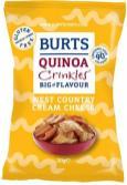 Quinoa Crinkler mit Cream Chesse-Geschmack von Burts. Schmecken extrem fad.