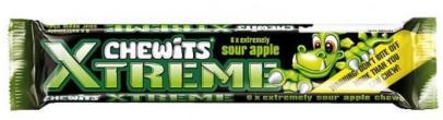 Chewits Xtreme Kaubonbons Saurer Apfel-Geschmack
