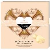 Niederegger Marzipan-Pralinen: Trüffelherzen mit Marc de Champagne