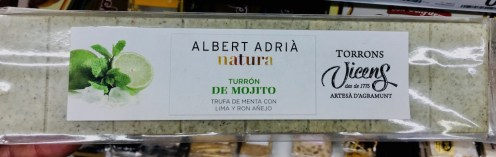 Albert Adria natura Turron de Mojito Torrons Vicens