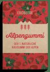 Bergfalke Alpengummi Natürlicher Kaugummi der Alpen Erdbeere 12g