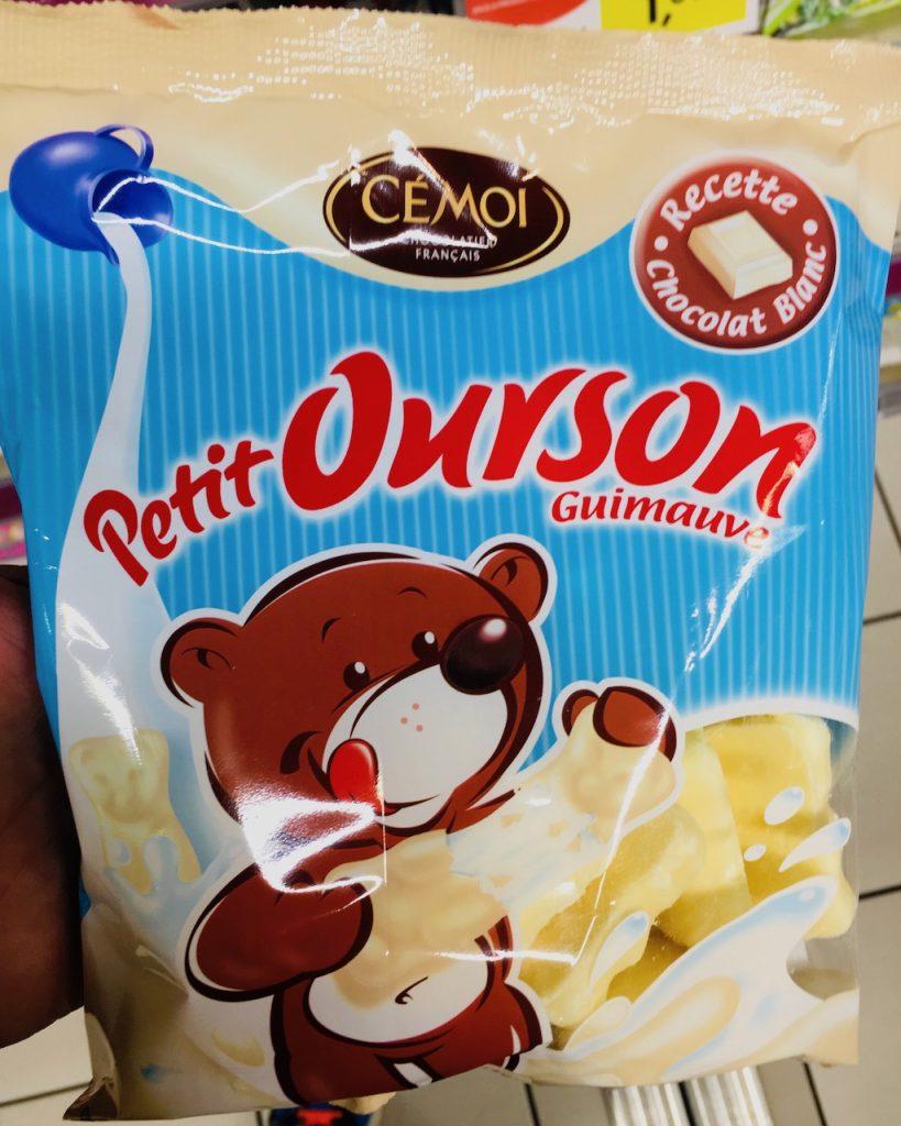 Cemoi Petit Ourson Guimauve Marshmallow weiße Schokolade