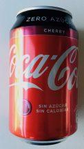 Coke Zero Cherry Spanien