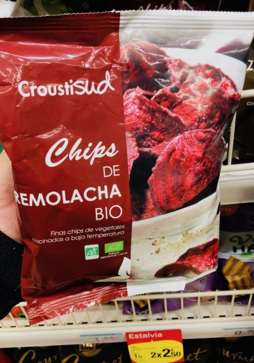 Gemüsechips Croustisud Chips de Remolacha Bio