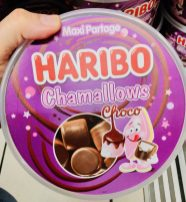 Haribo Chamallows Choco Spanien Dose