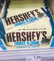 Hershey's Cookies n Creme Tafelschokolade wie Oreo-Keks