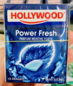 Hollywood Power Fresh 10 Dragees ohne Zucker Spanien