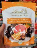 Lindt Sensation Fruit Naranja Pomelo Arancia e Pompelmo Rosa Schokoladenkugeln