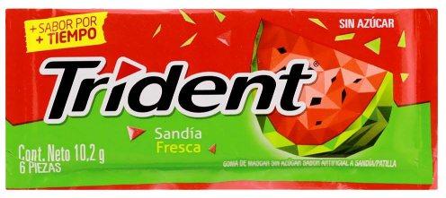 Noch mal eine andere Verpackung von Trident Sandia aus Spanien.