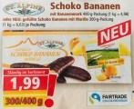 Norma Prospekt Schoko Bananen St Alpine mit Marillenfüllung Hauswirth