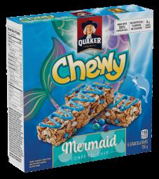 Quaker Chewy Mermaid Confetti Chip Müsliriegel bar