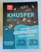 REWE Knusper Müsi Triple Choc Geschmackstest