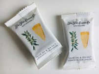 The Fine Cheese Co Bath England Olive Oil +Sea Salt Crackers for Cheese