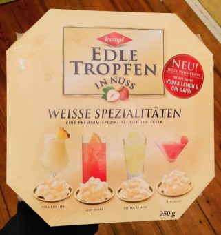 Trumpf Edle Tropfen in Nuss Weisse Spezialitäten Pina Colada Gin Daisy Vodka Lemon Daiquiri 250G