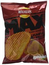 """Walkers Crisps Max, Geschmack """"Flaming Hot"""""""