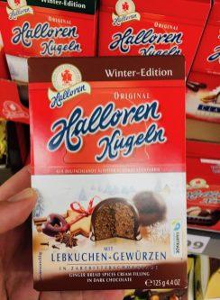 Halloren Kugeln Winter-Edition Lebkuchen-Gewürze 125G