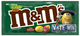 Mars M+M Mexican Jalapeno Peanut