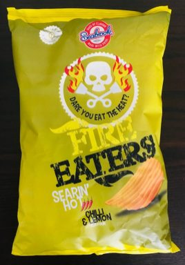 Seabrook Fire Eaters Searin' Hot Chilli+Lemon Chips