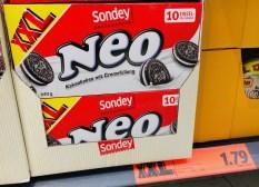 "Lidl-Oreo-Imitat von Eigenmarke Sondey: ""Neo"""