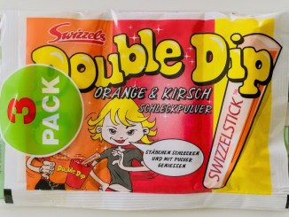 Swizzels Double Dip Orange Kirsch Schleckpulver