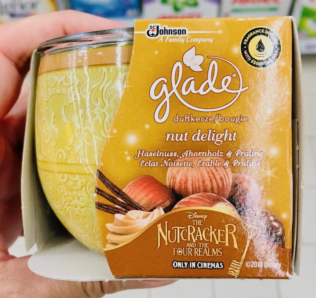 Johnson glade nut delight Haselnuss-Ahornholz-Praline Disneys The Nutcracker