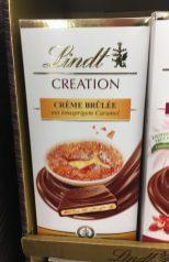 Lindt Creation Crème Brülée mit knusprigem Caramel Tafelschokolade
