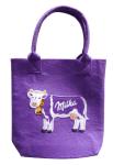 Milka-Einkaufstasche.