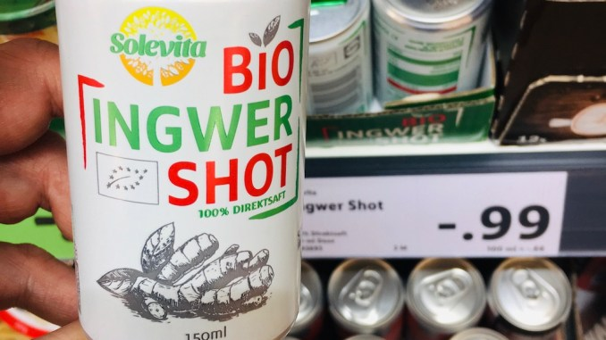 Solevita Bio Ingwer Shot Getränkedose 150ml