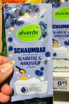 dm alverde Schaumbad Blaubeere+Ahornsirup