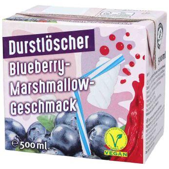 Durstlöscher Blueberry-Marshmallow-Geschmack 500ml