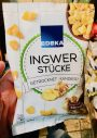 EDEKA Ingwer Stücke Getrocknet kandiert 200 Gramm