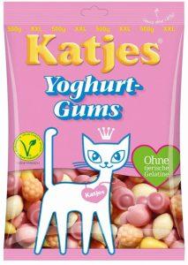 Katjes Yoghurt Gums 500g