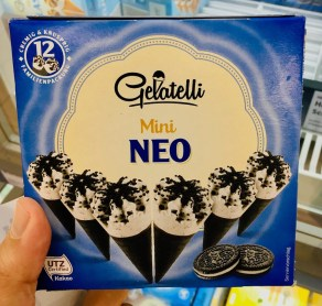 Lidl Gelatelli Mini Neo Eiskrem