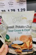 Lidl Snack Day Sweet Potato Chips Sour Cream+Chives